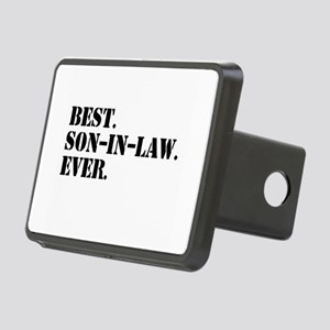 Best Son in Law Ever Rectangular Hitch Cover
