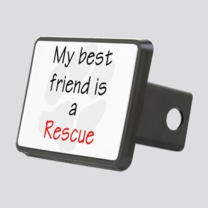 bestfriendrescue Rectangular Hitch Cover