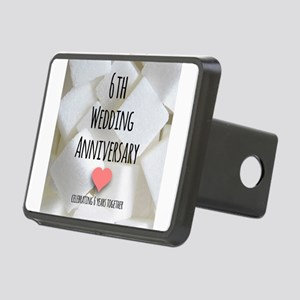 6th Wedding Anniversary Hitch Cover