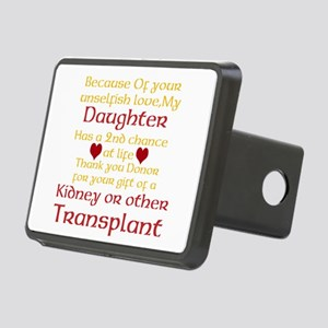 Personalize Transplant Donor Thank You Rectangular