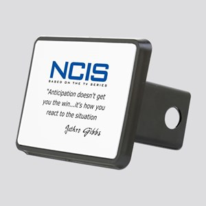 Gibbs Anticipation Quote Rectangular Hitch Cover