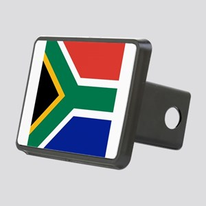 Flag of South Africa Rectangular Hitch Cover