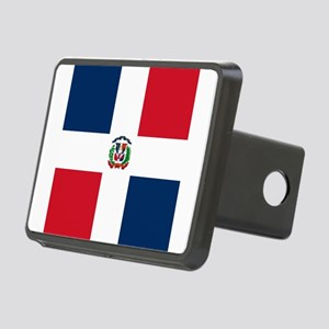 Flag of the Dominican Republic Rectangular Hitch C