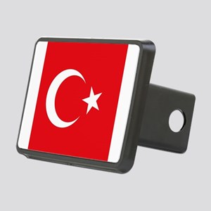 Flag of Turkey Rectangular Hitch Cover