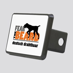 Fear the Beard - Deutsch D Rectangular Hitch Cover