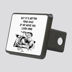 funny doctor joke Rectangular Hitch Cover