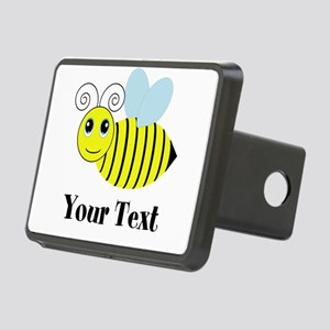 Personalizable Honey Bee Hitch Cover