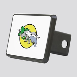 Horned Warrior Friends Rectangular Hitch Cover