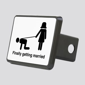 Finally Getting Married Hitch Cover