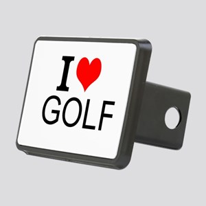 I Love Golf Hitch Cover