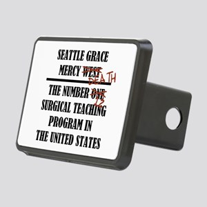 MERCY DEATH Rectangular Hitch Cover