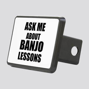 Ask me about Banjo lessons Rectangular Hitch Cover