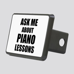 Ask me about Piano lessons Rectangular Hitch Cover