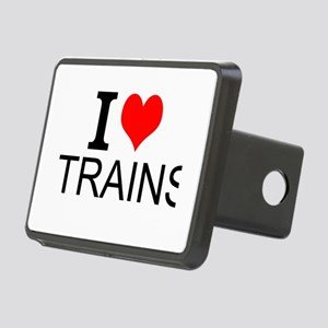 I Love Trains Hitch Cover