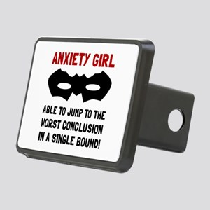 Anxiety Girl Hitch Cover