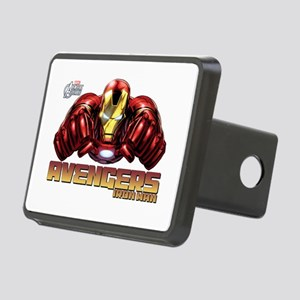 Iron Man Fists Rectangular Hitch Cover