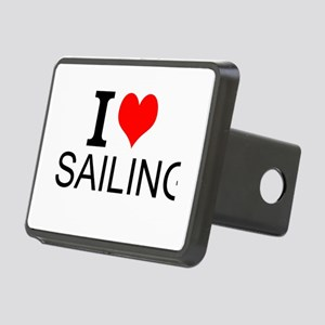 I Love Sailing Hitch Cover
