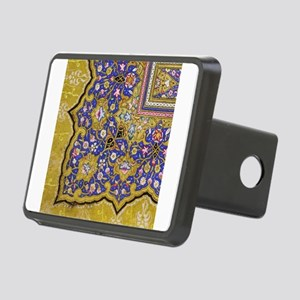 Arabian Floral Pattern Rectangular Hitch Cover