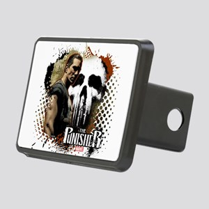 Punisher Grunge Rectangular Hitch Cover