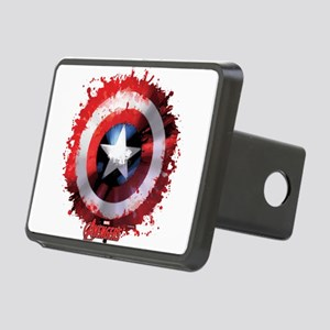 Cap Shield Spattered Rectangular Hitch Cover