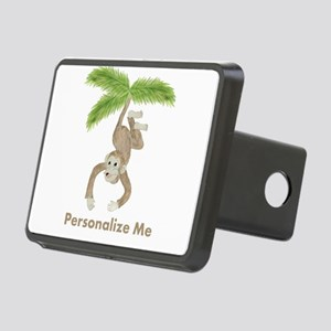 Personalized Monkey Rectangular Hitch Cover