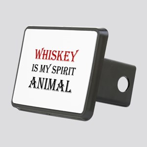 Whiskey Spirit Animal Hitch Cover