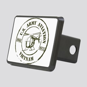 Army Aviation Vietnam Rectangular Hitch Cover