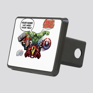 Avengers Assemble Personal Rectangular Hitch Cover