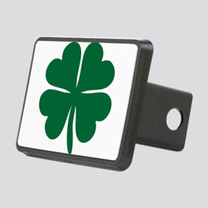 Four Leaf Clover Rectangular Hitch Cover