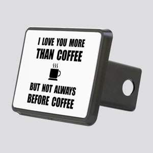 Not Before Coffee Hitch Cover