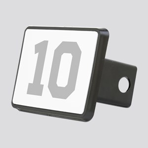 SILVER #10 Rectangular Hitch Cover