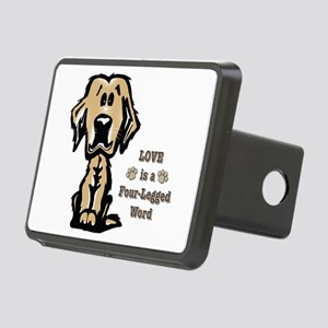 Love is a Four Legged Word Hitch Cover