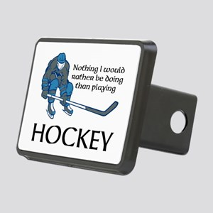 Playing Hockey Hitch Cover