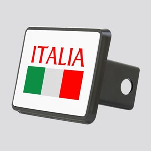 ITALIA FLAG Rectangular Hitch Cover