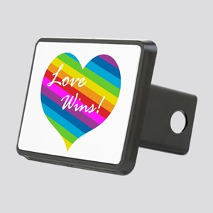 Love Wins Rectangular Hitch Cover