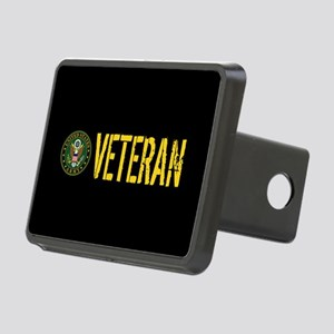 U.S. Army: Veteran Rectangular Hitch Cover