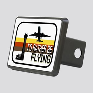 Airplane Pilot: I'd Rather Be Flying Hitch Cover