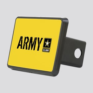 U.S. Army: Army (Gold) Rectangular Hitch Cover