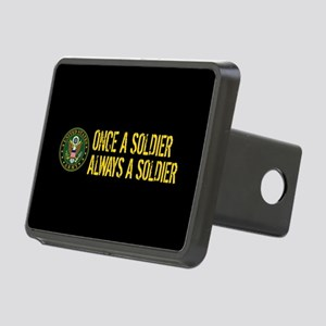 U.S. Army: Once a Soldier, Rectangular Hitch Cover