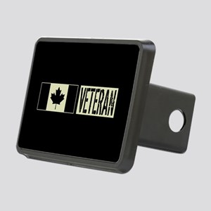 Canadian Military: Veteran Rectangular Hitch Cover