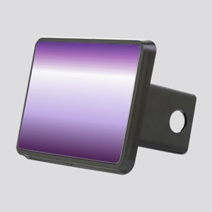 abstract lilac purple ombr Rectangular Hitch Cover