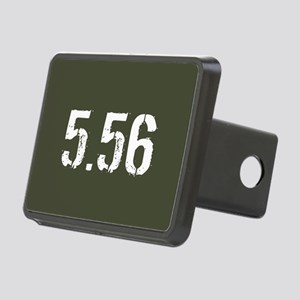 5.56 Ammo: Military Green Rectangular Hitch Cover