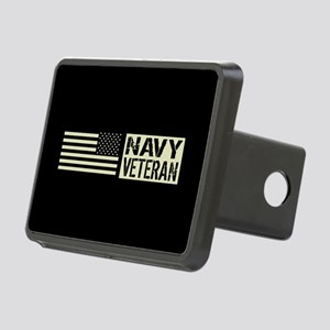 U.S. Navy: Veteran (Black Flag) Hitch Cover