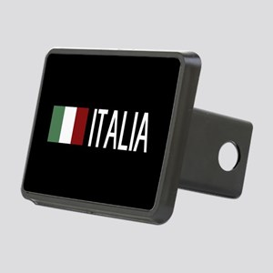 Italy: Italia & Italian Fl Rectangular Hitch Cover