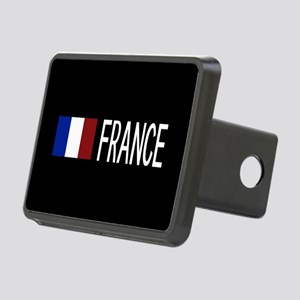 France: French Flag & Fran Rectangular Hitch Cover