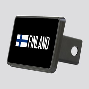 Finland: Finnish Flag & Fi Rectangular Hitch Cover