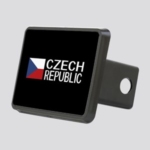 Czech Republic: Czech Flag Rectangular Hitch Cover