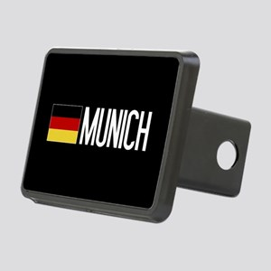 Germany: German Flag & Mun Rectangular Hitch Cover