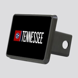 Tennessee: Tennessean Flag Rectangular Hitch Cover