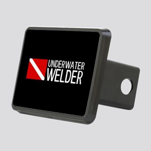 Welding: Underwater Welder Rectangular Hitch Cover